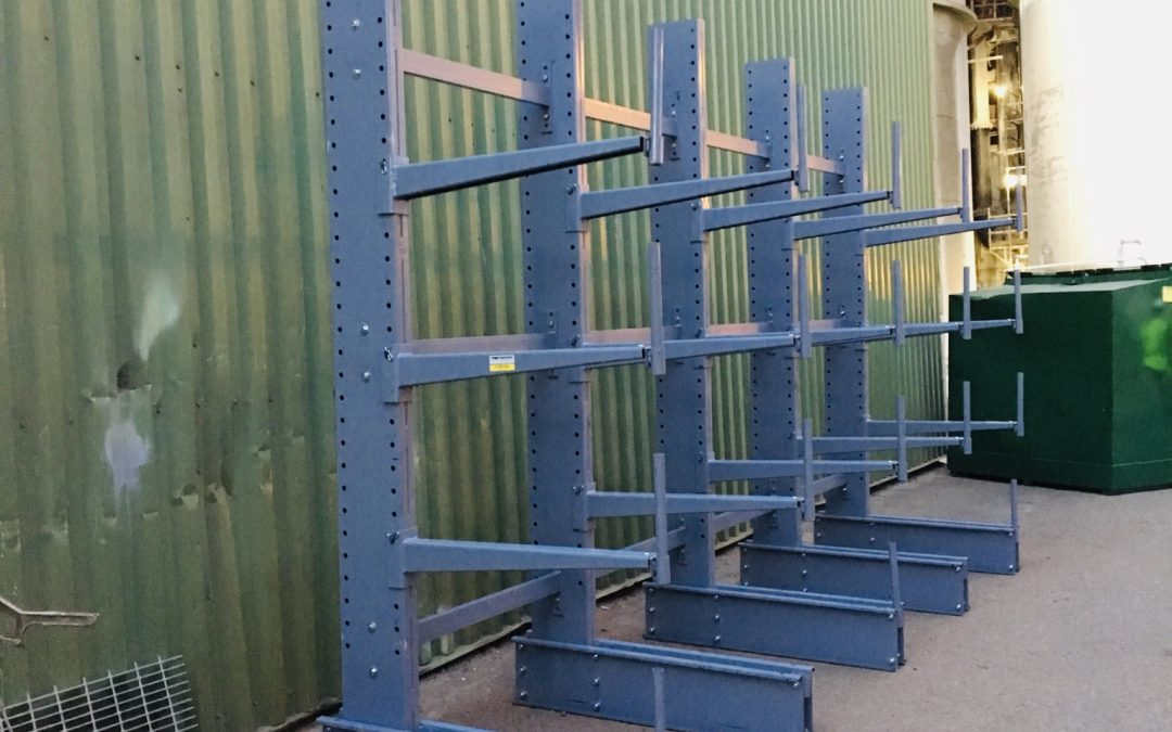 DARYCA Improves Safety and Load Rating with Cantilever Storage